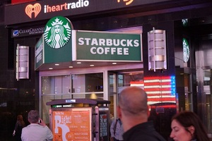 West 43rd and Broadway starbucks